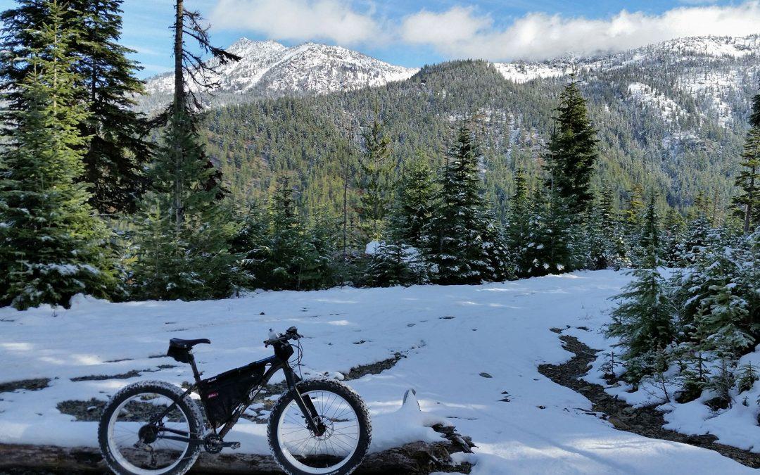 Essayez le vélo d'hiver!
